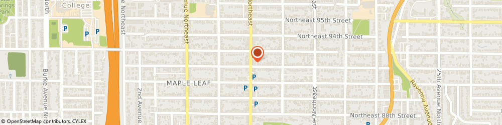 Route/map/directions to Citibank ATM, 98115 Seattle, 9126 Roosevelt Way Ne