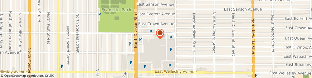 Route/map/directions to Outback Steakhouse, 99208 Spokane, 5628 N Division St