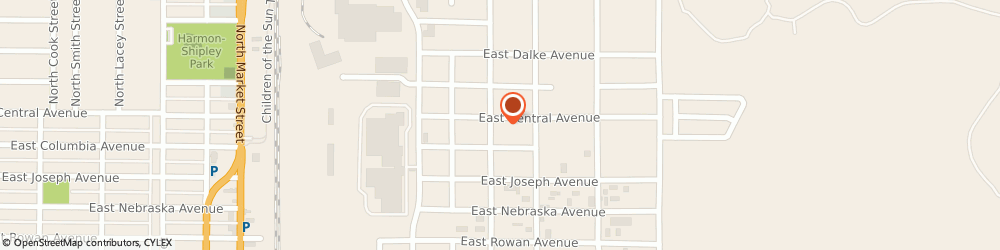 Route/map/directions to ICDI Diesel Repair, 99217 Spokane, 3808 E Central Ave