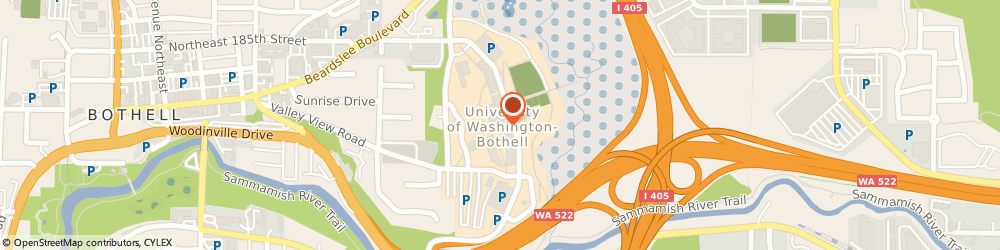 Route/map/directions to Subway, 98011 Bothell, 18825 Campus Way NE