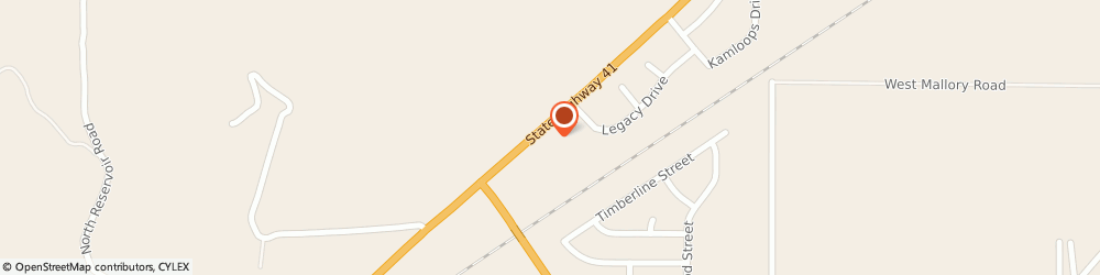 Route/map/directions to Atm Great Western Bank, 83858 Rathdrum, 16234 N Hwy 41