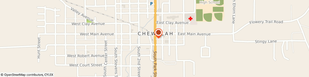 Route/map/directions to Washington Federal Chewlah, 99109 Chewelah, 108 N. Park St.
