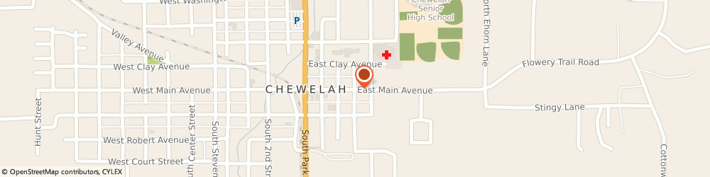 Route/map/directions to Ace Hardware & Building Supplies, 99109 Chewelah, 301 EAST MAIN AVENUE