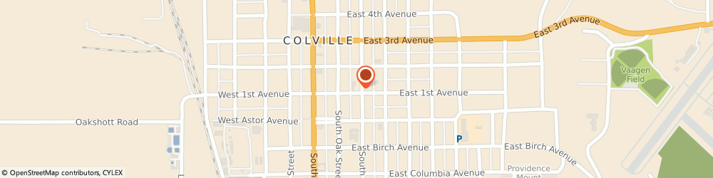 Route/map/directions to Washington Federal Colville, 99114 Colville, 225. E. 1St Avenue