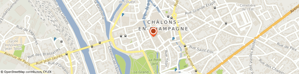 Id es bains ch lons en champagne 6 r lochet 03 26 65 00 for Code postal chalons en champagne