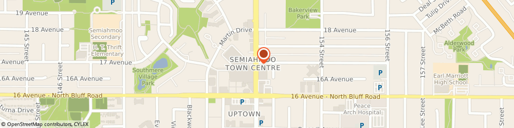 Route/map/directions to National Bank Financial, V4A 4N2 Surrey, 1688 152 ST # 108