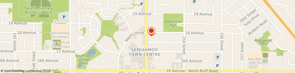 Route/map/directions to Vancity ATM, V4A 7Z7 Surrey, 104 - 1790 152Nd Street