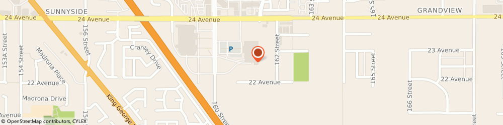 Route/map/directions to A&W, V3Z 0R5 Surrey, 170 - 2332 160Th Street