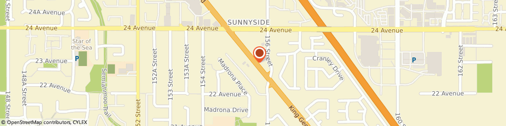Route/map/directions to Mr. Lube, V4A5A4 Surrey, 2299 King George Blvd