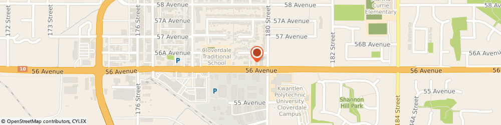 Route/map/directions to Starbucks, V3S 1E2 Surrey, 17967 56Th Avenue