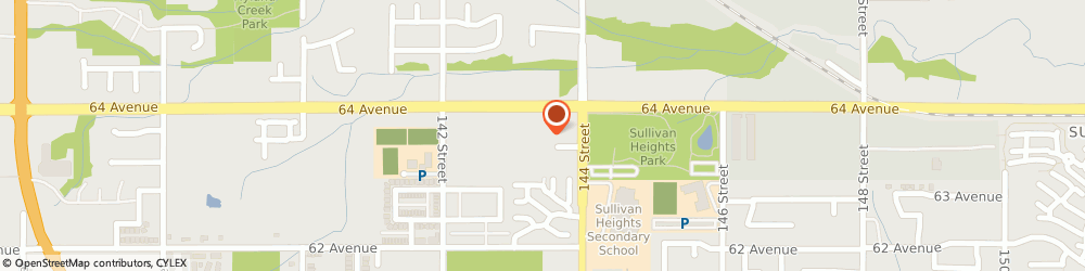 Route/map/directions to Blenz Coffee Sullivan Heights, V3W 1Z1 Surrey, Unit #108 14330 - 64Th Ave