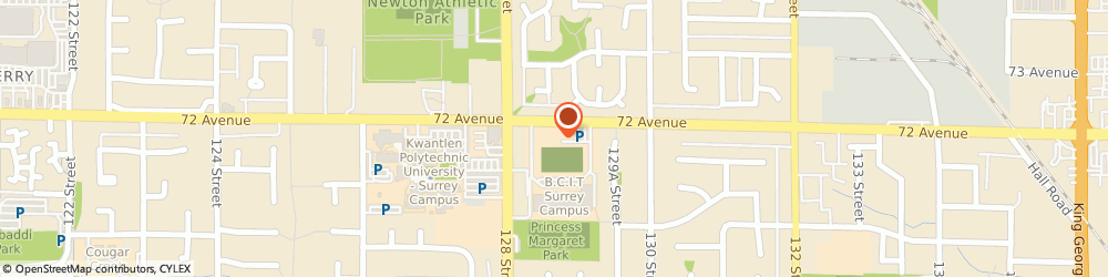 Route/map/directions to Surrey Schools Princess Margaret, V3W 2M9 Surrey, 12870-72 Avenue