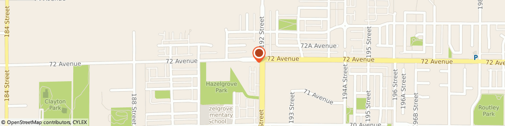 Route/map/directions to Subway, V4N 1M9 Surrey, 19188 72 Avenue