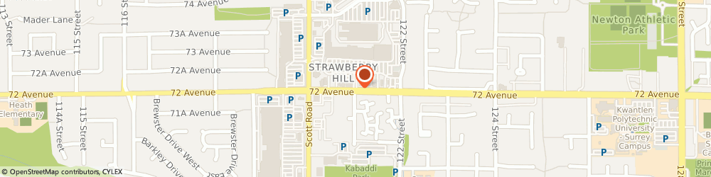 Route/map/directions to Scotiabank, V3W 2M1 Surrey, 12161 72Nd Avenue