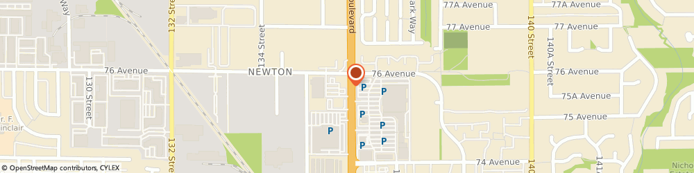 Route/map/directions to Vancity Credit Union Br. 27 -Newton community branch, V3W5A8 Surrey, 7555 King George Blvd
