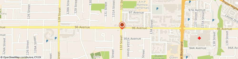 Route/map/directions to Scotiabank, V3V 5R2 Surrey, 9583 132 St.
