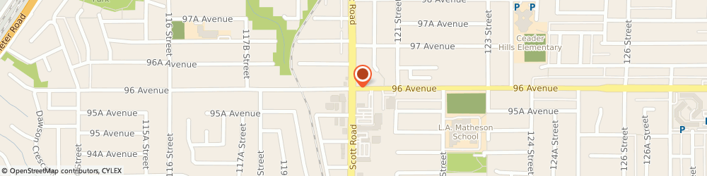 Route/map/directions to Scotiabank, V3V 4C3 Surrey, 9620 120Th Street