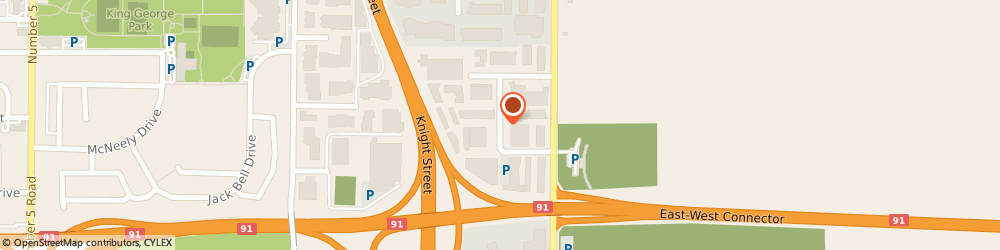 Route/map/directions to Q-Media Solutions Corp., V6V 1W1 Richmond, 3511 Viking Way #5