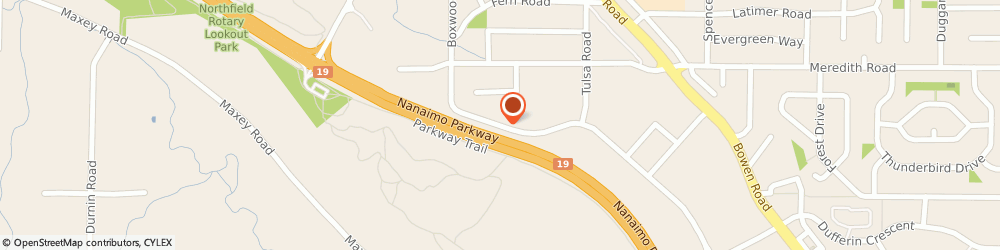 Route/map/directions to Industrial Plastics & Paints, V9S 5W7 Nanaimo, 2052 Boxwood Rd