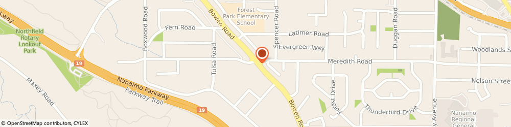Route/map/directions to Syryus Solutions Ltd, V9S 5W6 Nanaimo, 4-2025 Bowen Rd