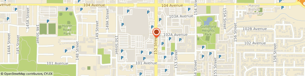 Route/map/directions to Chachi's, V3R 7C1 Surrey, 10355 152 Street