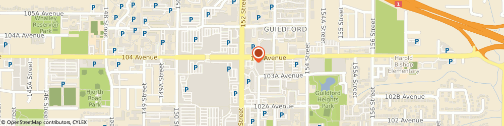 Route/map/directions to Tim Hortons, V3R 4G8 Surrey, 10376 152nd St