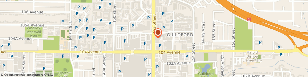 Route/map/directions to Sun Life Financial Ashwani Devat, V3R 0Y3 Surrey, 10470 - 152Nd Street, Suite 170