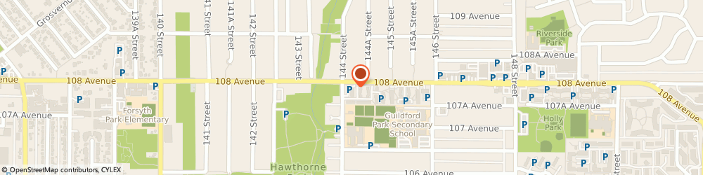 Route/map/directions to Scotiabank, V3R 1V4 Surrey, 14410 108 Avenue W