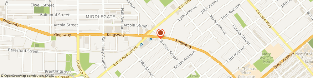 Route/map/directions to G&F Financial Group, V3N3B5 Burnaby, 7375 Kingsway