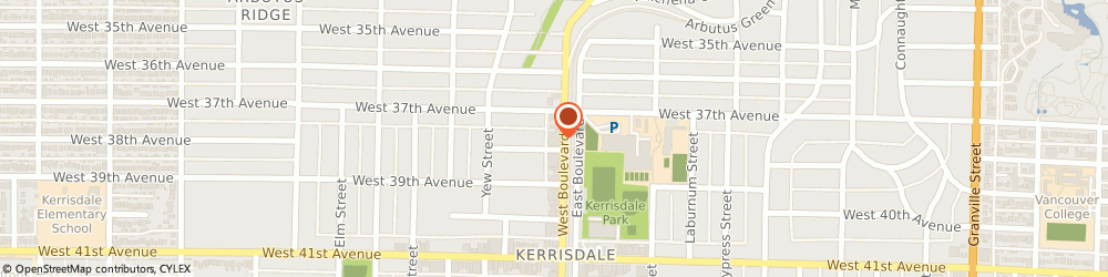 Route/map/directions to Alice Rei Ho Personal Real Estate Corporation, V6M 1R8 Vancouver, 2105 West 38th Avenue