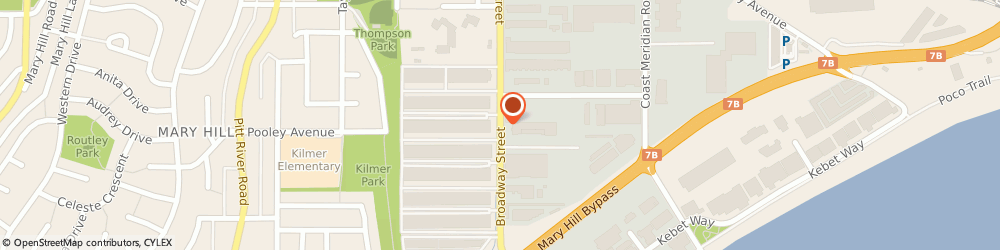 Route/map/directions to Levitt Safety Ltd., V3C2M7 Port Coquitlam, Suite 106-1611 Broadway St