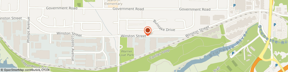 Route/map/directions to Vitalitys Energy Centre Ltd, V5A 2H5 Burnaby, 8036 Winston Street