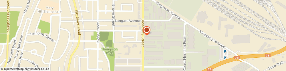 Route/map/directions to Glass Station, V3C 2M8 Port Coquitlam, 103-1776 Broadway St
