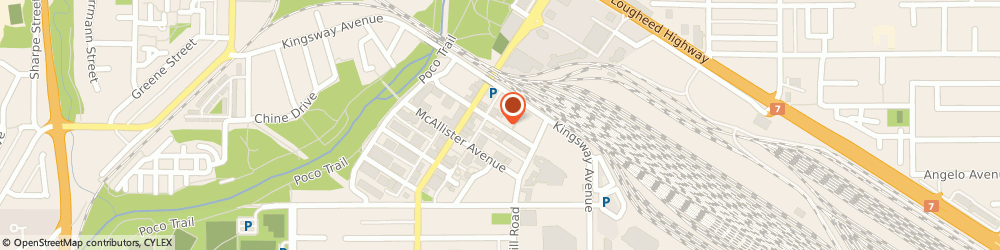 Route/map/directions to Elgin Orthotics Clinic, V3C 2B3 Port Coquitlam, 2255 ELGIN AVE