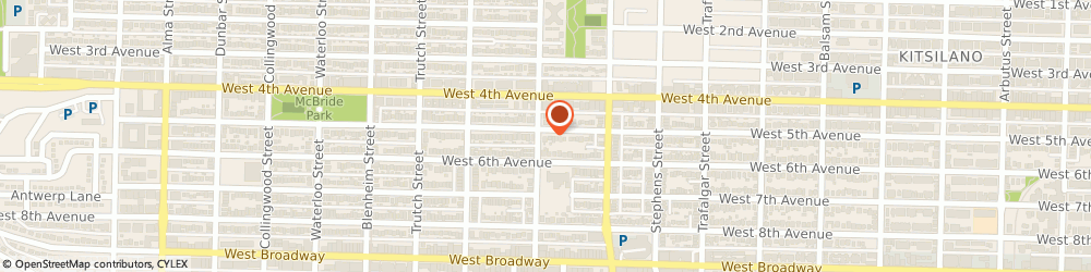 Route/map/directions to Kit's Cottage Day Care, V6K 1T6 Vancouver, 2926 West 5Th Avenue