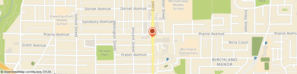Route/map/directions to Coast Family Chiropractic, V3B 1T4 Port Coquitlam, 1530 Prairie Ave Suite 101B