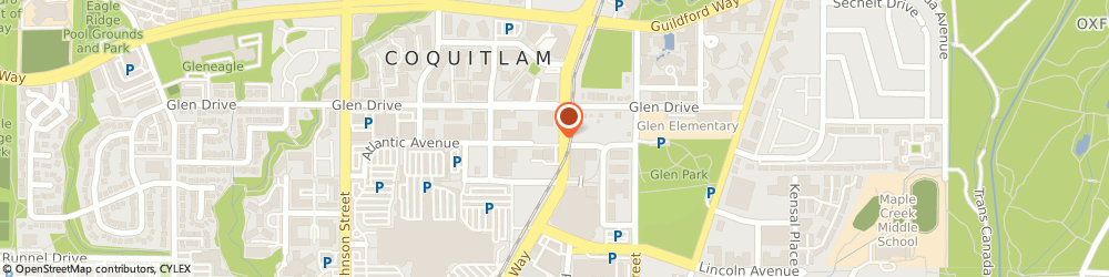 Route/map/directions to Appliance Repair Coquitlam, V3B 0K9 Coquitlam, 708-1188 Pinetree Way