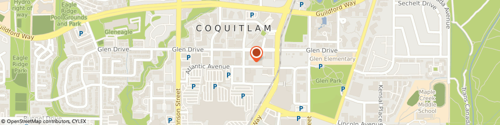 Route/map/directions to PostNet, V3B 7W4 Coquitlam, 1155 The High St