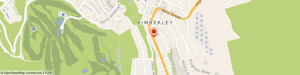 Route/map/directions to TD Canada Trust ATM, V1A 1Z8 Kimberly, Fasgas-545 Wallinger Ave