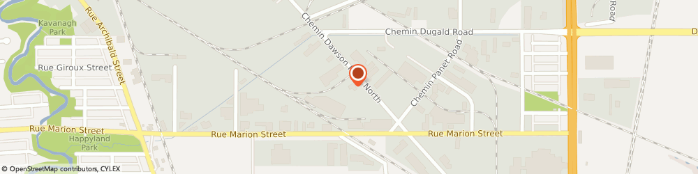 Route/map/directions to U-Haul, R2J 0S7 Winnipeg, 390 Dawson Rd N
