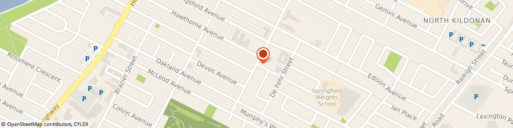 Route/map/directions to Scotiabank, R2G 1T6 Winnipeg, 1155 Rothesay Street