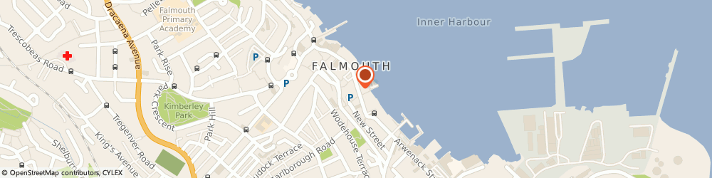 Route/map/directions to Picnic Cornwall, TR11 3DR Falmouth, 14 Church St