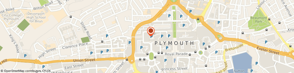 Route/map/directions to Coronet Engravers, PL1 1PW Plymouth, Unit 16 Plymouth City Market
