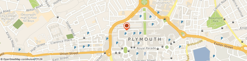 Route/map/directions to Timpson, PL1 1PA Plymouth, 117 Cornwall Street