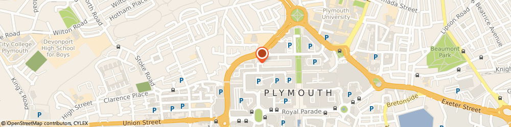 Route/map/directions to Stylus Engravers, PL1 1PD Plymouth, 9-11 Market Way