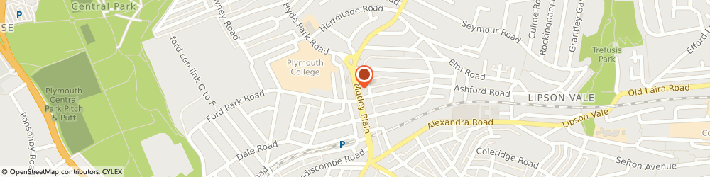 Route/map/directions to Wetherspoon, PL4 6JH Plymouth, 61-63 Mutley Plain