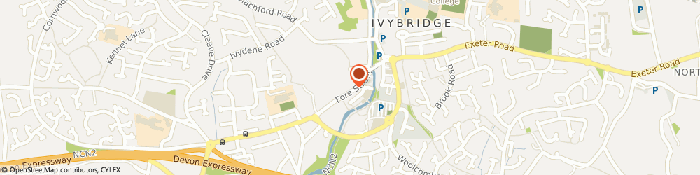 Route/map/directions to Photocare, PL21 9AE Ivybridge, 39B Fore Street