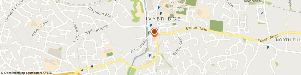 Route/map/directions to Devon Commercial Cleaning Laundries, PL21 0DB Ivybridge, The Archway, 1 Costly Street