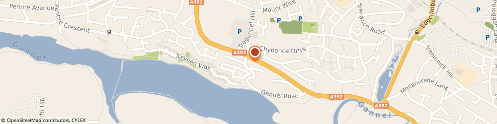 Route/map/directions to Newquay Fire Station, TR7 1QT Newquay, TREGUNNEL HILL