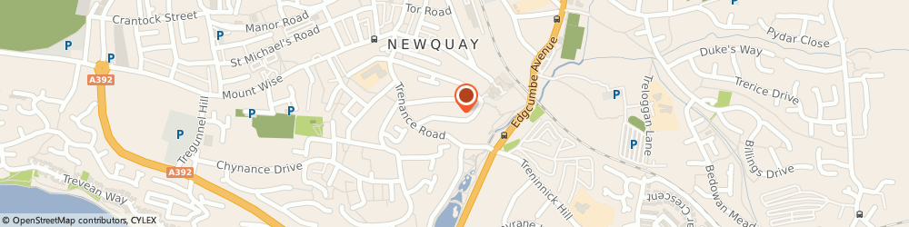 Route/map/directions to Sue's Taxis, TR7 2HJ Newquay, 12 HEADLEIGH RD